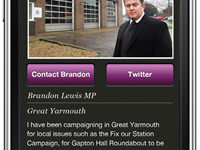 The new My MP iPhone app