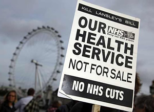Message to Gideon, Lansley and Dave: Get yer grubby, right-wing hands off our NHS posh boys
