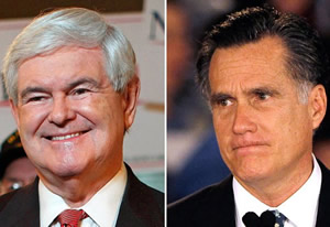 Newt v Mitt: Lots of South Carolinans were worried about the religious fundamentalist nut-job and his weird cult - but voted him the winner anyway