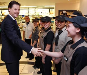 """I'll have treble tuition fees with cheese, and scrap that side order of EMA. Yah!"""