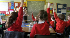 """Hands up all those who oppose free schools"""