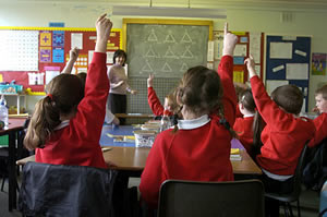 """""""Hands up all those who oppose free schools"""""""