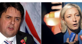 Fascists: Nick Griffin and Marine Le Pen