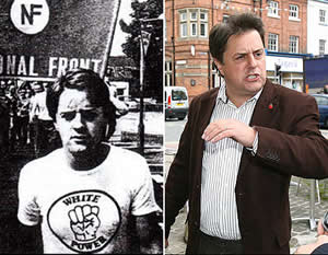 Climate denying Nazi Nick Griffin