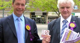 Nigel Farage and Mike Nattrass