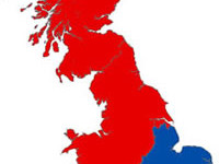 The North-South divide has widened under the Tory coalition
