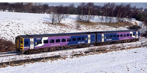 A Northern Rail Manchester-Leeds train through the Pennines - not exactly 21st-century standard