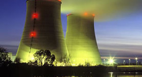 A vision of a Lib Dem future: Nuclear power stations will dominate the landscape if Chris Huhne gets his way