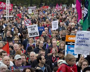 The October 20the anti-austerity march