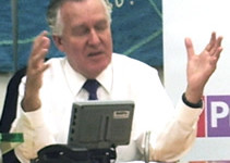 Eyes wide shut: Peter Hain appears blind to the indifference of Lib Dem supporters to his plans