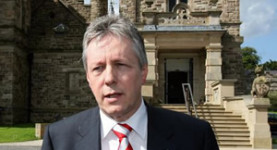 DUP leader and Northern Ireland first minister Peter Robinson