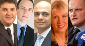 "Tea Party Tories: Philip Davies, Dominic Raab, Sajid Javid, ""Mad Nad"" Dorries and Douglas Carswell"