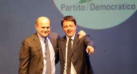 Pier Luigi Bersani defeated Matteo Renzi in the Partito Democratico primaries