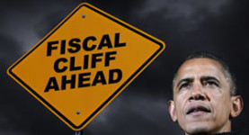 President Barack Obama: Staring down the fiscal cliff