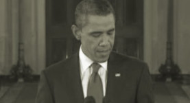 Bloodied but unbowed: President Obama vows to fight back after his midterms defeat last night