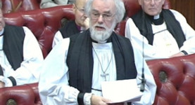 Oh Lord! The Bishops in Parliament, voting on all our lives