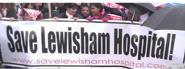 Marching to save Lewisham Hospital