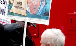 The Save Lewisham Hospital protests