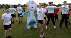 Mandeville inspires the next generation of sports stars
