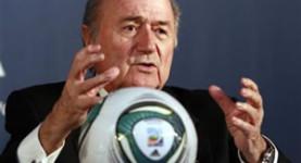 Corrupt: FIFA President Sepp Blatter
