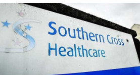 In trouble: Southern Cross Healthcare
