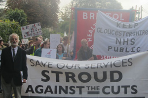 Stroud against the cuts