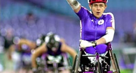 Golden girl: Tanni Grey-Thompson, one of the finest athletes Britain has ever produced
