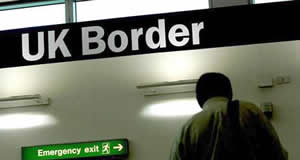 The UK border