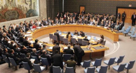 Debating chamber: The UN Security Council