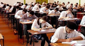 Children in Wales sit their GCSEs