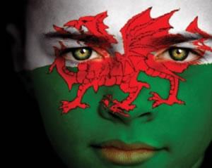 Wales: A fine flag