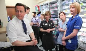 Concerns? What concerns?! Cameron turned his ear to the nurses, but somehow still couldn