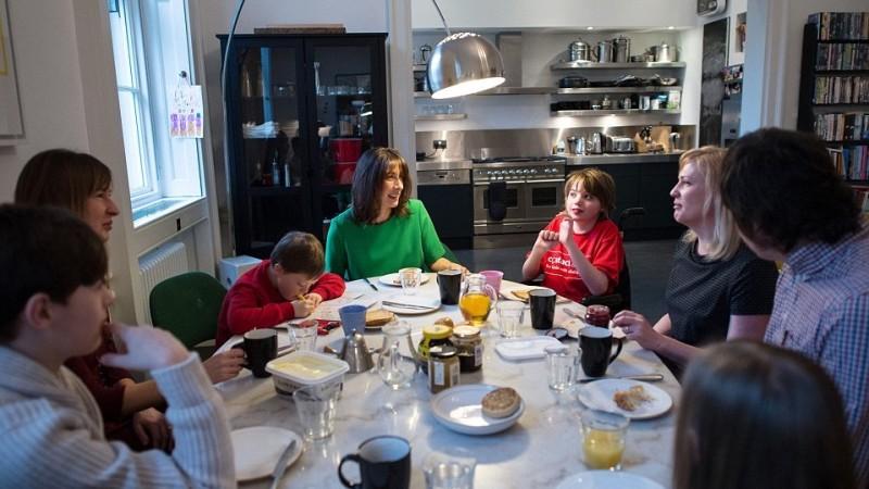 David Cameron's kitchen
