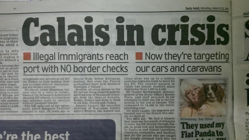 Calais in crisis