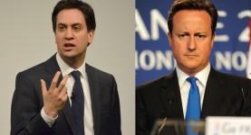 Miliband, Cameron crop