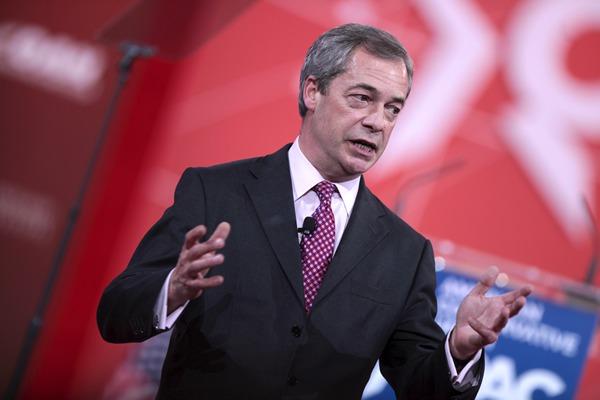 Nigel Farage ncr