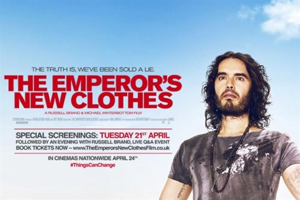 The Emperor's New Clothes (2015 film) The Emperors New Clothes review Russell Brand is simplistic