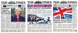 Times fronts manifesto