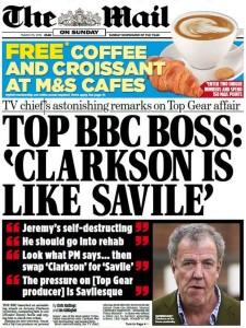 Mail BBC Clarkson Saville