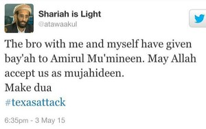 Shariah Tweet