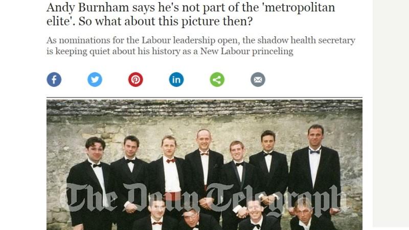 Burnham Telegraph suit