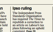 IPSO correction