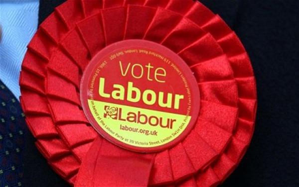 Labour-rosette