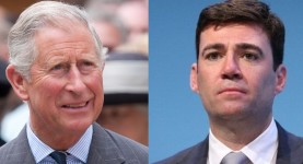 Prince Charles and Andy Burnham