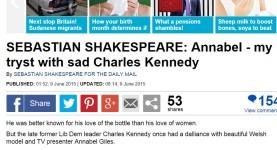 Sebastian Shakespeare Mail Kennedy