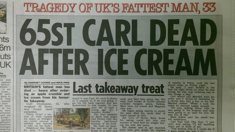 Sun 22 6 obese headline