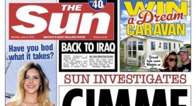 Sun front page 8 June crop