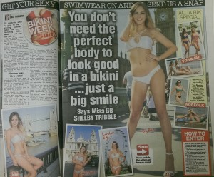 Sun launches bikini week