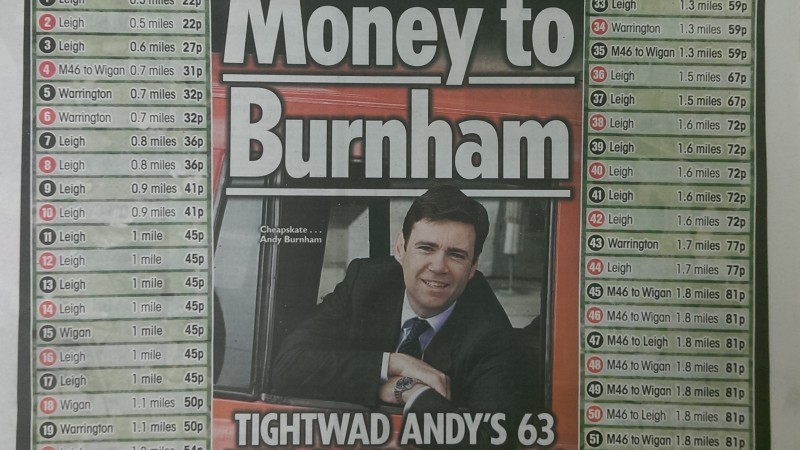 Andy Burnham Sun 16 7 15