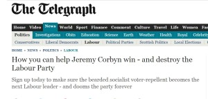 Telegraph 16 7 15 destroy Labour